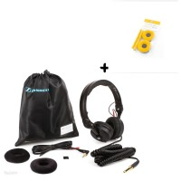 Sennheiser HD 25 Plus   Polster Set Velour Yellow