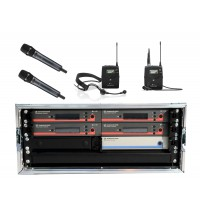 Sennheiser Mehrkanalsystem EW  4 CH 2H 1L 1K