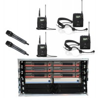 Sennheiser Mehrkanalsystem EW  6 CH 2H 2L 2K