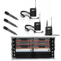 Sennheiser Mehrkanalsystem EW  6 CH 3H 1L 2K