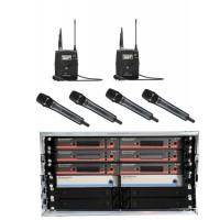 Sennheiser Mehrkanalsystem EW  6 CH 4H 2L
