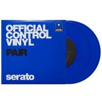 Serato Ersatz Vinyl Performance 7  Single Blue