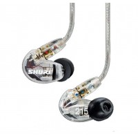 Shure SE 215 CL Clear   Transparent