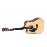 Sigma DMC1STE  Lefthand Akustikgitarre inkl  Gigba