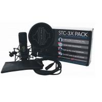 Sontronics STC 3X Pack Microphone Set Black