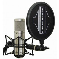 Sontronics STC 3X Pack Microphone Set Silver
