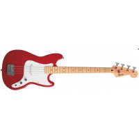 Squier Bronco Bass Torino Red MN Short Scale