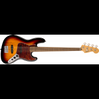 Squier Classic Vibe 60s Jazz Bass Fretless 3CSB