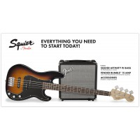 Squier Pack PJ Bass Rumble 15v3 BSB