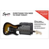Squier Pack Stratocaster HSS 15G Laurel BSB