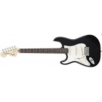 Squier Standard Stratocaster Left Hand Black RW