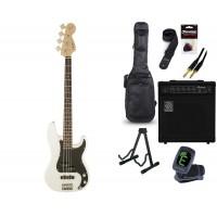 Starterset E Bass Squier A  Precision B  PJ OWT