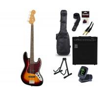 Starterset E Bass Squier CV 60s Jazz B  LRL 3CSB