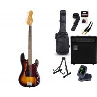Starterset E Bass Squier CV 60s Precision B  3CSB