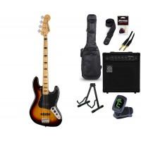 Starterset E Bass Squier CV 70s Jazz Bass 3CSB