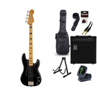 Starterset E Bass Squier CV 70s Precision B  Black