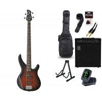 Starterset E Bass Yamaha TRBX 174 Old Violin Sunbu