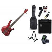 Starterset E Bass Yamaha TRBX 304 Candy Apple Red