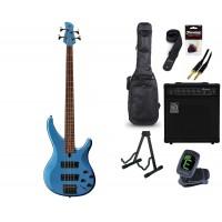 Starterset E Bass Yamaha TRBX 304 Factory Blue