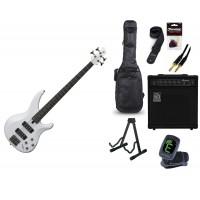 Starterset E Bass Yamaha TRBX 304 White