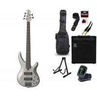 Starterset E Bass Yamaha TRBX 305 Pewter