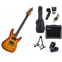 Starterset E Gitarre Dean Custom 350 TAB