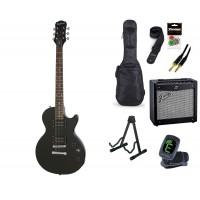 Starterset E Gitarre Epiphone LP Special II Ebony