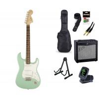 Starterset E Gitarre Squier Affinity SC SG Laurel