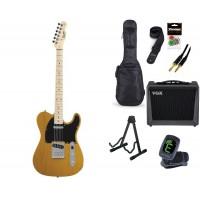 Starterset E Gitarre Squier Affinity TC BSB MN