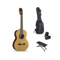Starterset Konzertgitarre Alhambra 1C