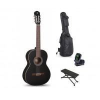 Starterset Konzertgitarre Alhambra 1C 650mm schwar