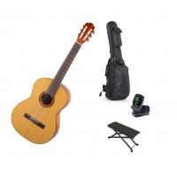Starterset Konzertgitarre Aranjuez A4F Solid Spruc
