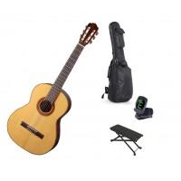 Starterset Konzertgitarre Aranjuez A5F Solid Spruc