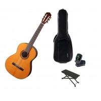 Starterset Konzertgitarre Aranjuez A5Z 1 2 Solid C