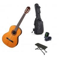 Starterset Konzertgitarre Aranjuez A5Z Solid Cedar