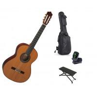 Starterset Konzertgitarre Perez 640 Solid Cedar