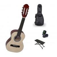 Starterset Konzertgitarre VGS BasicPlus 1 4