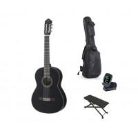Starterset Konzertgitarre Yamaha CG 142 S Black