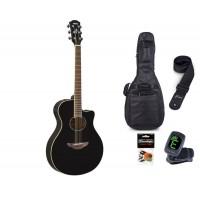 Starterset Westerngitarre Yamaha APX 600 Black