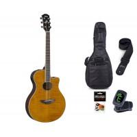 Starterset Westerngitarre Yamaha APX 600 FM Amber