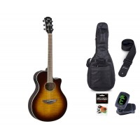 Starterset Westerngitarre Yamaha APX 600 FM TSB