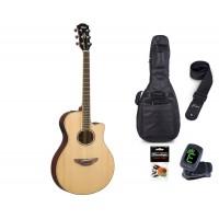 Starterset Westerngitarre Yamaha APX 600 Natural