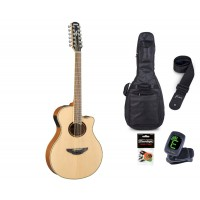 Starterset Westerngitarre Yamaha APX 700 II 12 Nat