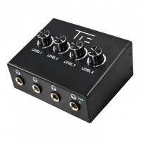 TIE Studio Headphone Amplifier 4CH