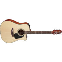 Takamine P2DC Dreadnought Natural Satin