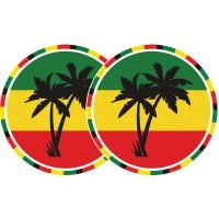 Technics Slipmats Jamaika