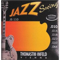 Thomastik JS110 10 44 Flat Wound Ac  Jazz Swing