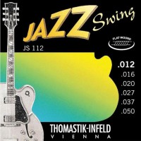 Thomastik JS112 12 50 Flat Wound Ac  Jazz Swing