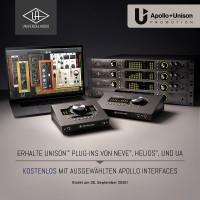Universal Audio Apollo FW QUAD PROMO