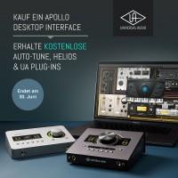 Universal Audio Apollo Solo TB3 Heritage PROMO
